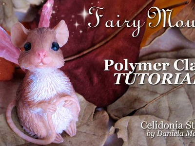 Fairy Mouse - Polymer Clay Tutorial