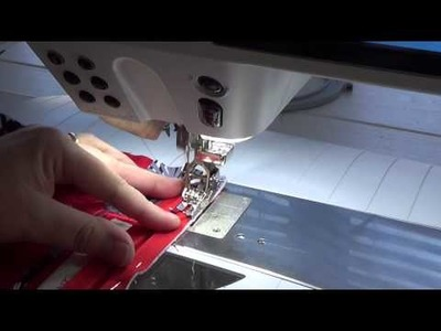 How to Add a Zipper with the BERNINA 880