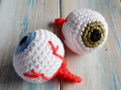 How to Crochet an Eyeball