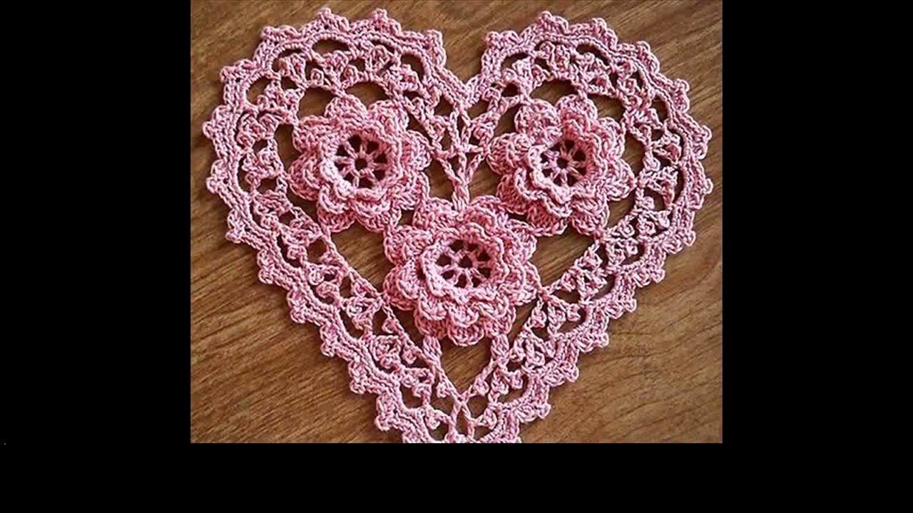 How to crochet roses