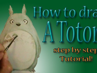How to draw a Totoro