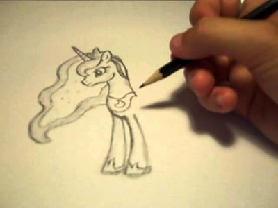 How to draw: princess luna from MLP