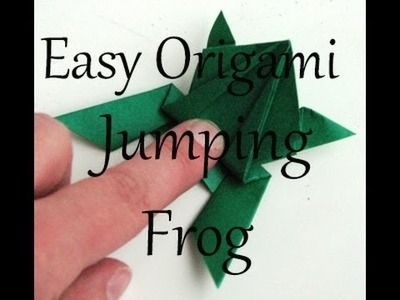 How to make a frog out of paper ** very easy!! **