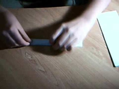 How to make - a paper bomb kunai