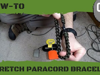 How To Make a Stretch Paracord Bracelet with No Buckles