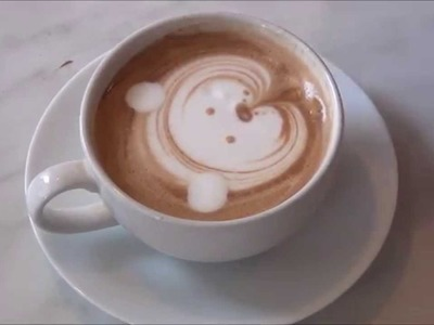 How To Make Cat | Latte Art Easy Tutorial For Beginners