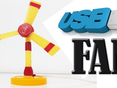 How to Make the Simplest USB Fan -DIY projects