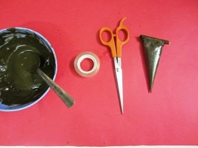 How to making diy mehndi cone- k1