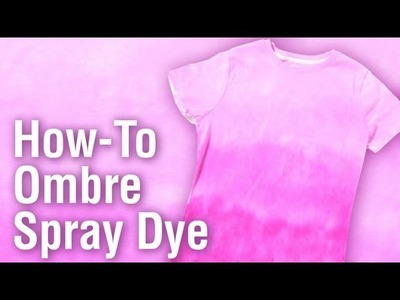 How-To Ombre  Dye Technique with Tulip One-Step Tie Dye
