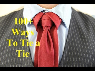 How To Tie a Tie   Cobra Knot