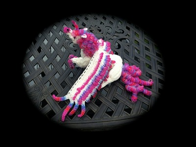 Part 9.9 Rainbow Loom Horse.Pegasus.Unicorn, Adult