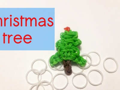 Rainbow Loom Christmas Tree Charm | Loom Bands How To