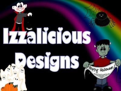 Rainbow Loom Halloween Ideas - Action Figures & Charms © Izzalicious Designs 2014