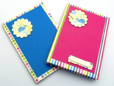 Stampin Up UK How to Cover a Hardback Notebook Tutorial