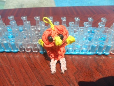 Torchic Rainbow loom charm tutorial