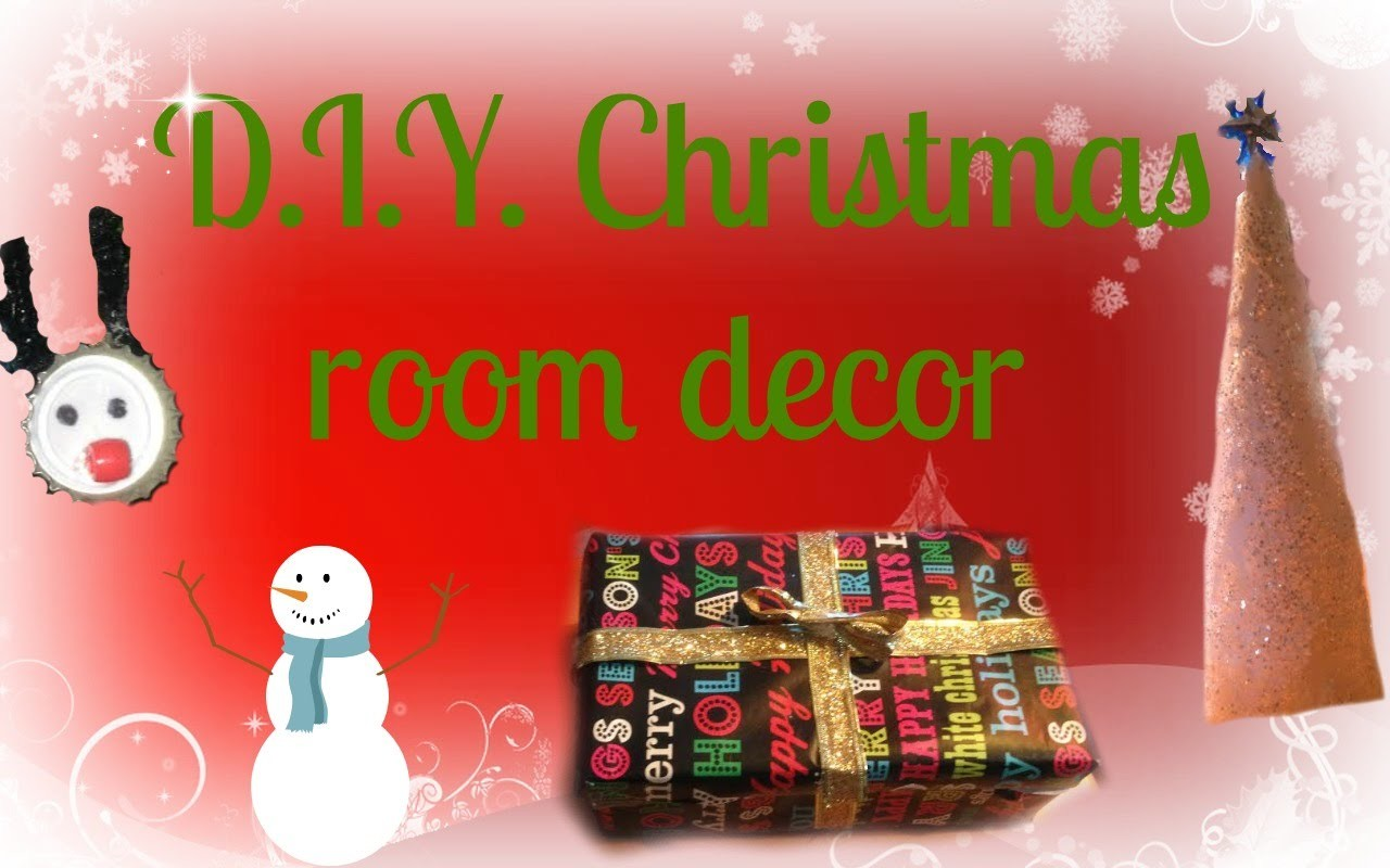 5 Easy D.I.Y. Christmas Decorations!