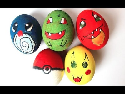 Awesome Custom Pokemon Easter Eggs DIY!