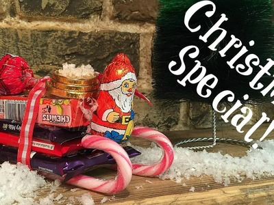 Christmas Crafts   Easy Chocolate Sleigh Treat DIY (as seen on Elynn's Place)