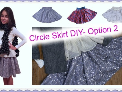 Circle Skirt DIY - with elasticated Waistband