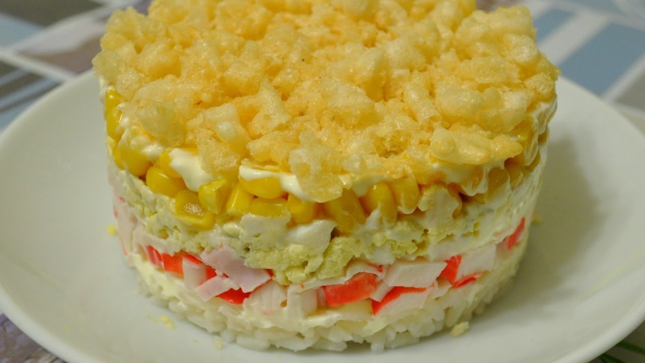 Cook Puff Salad with Crab Chips - DIY  - Guidecentral