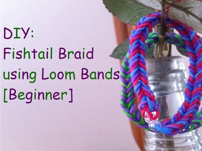 DIY: Fishtail Bracelet using Loom Bands [Beginner]