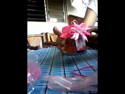 DIY Jar Jelly Candy Favors Giveaway for Christening