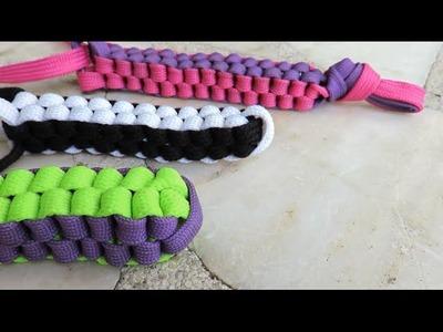DIY Lanyard Shoe Laces (Square Weave)