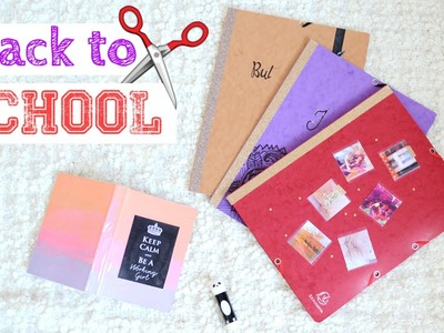 DIY N°2 : Agenda et Chemises | Back to School