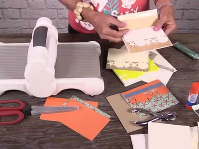 DIY Summer cards using 1 die!
