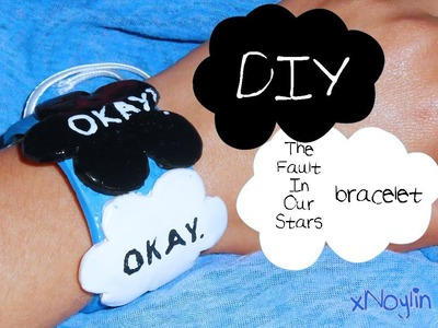 DIY || The Fault In Our Stars || BRACELET