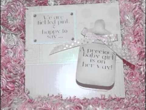 DIY Unique baby shower invitation decorating ideas