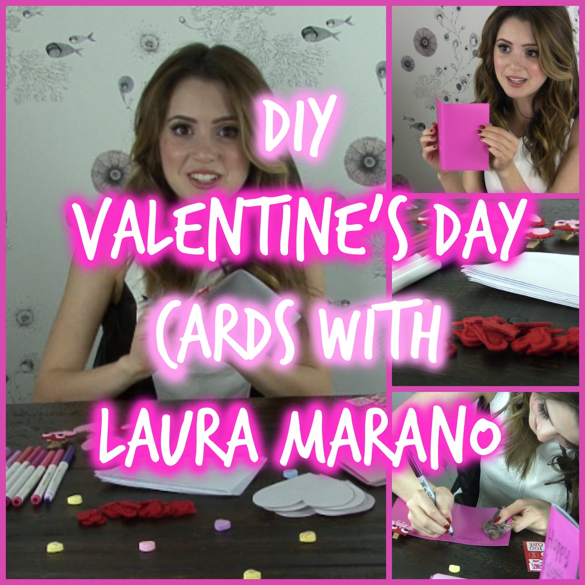 DIY Valentine's Day Cards with Laura Marano