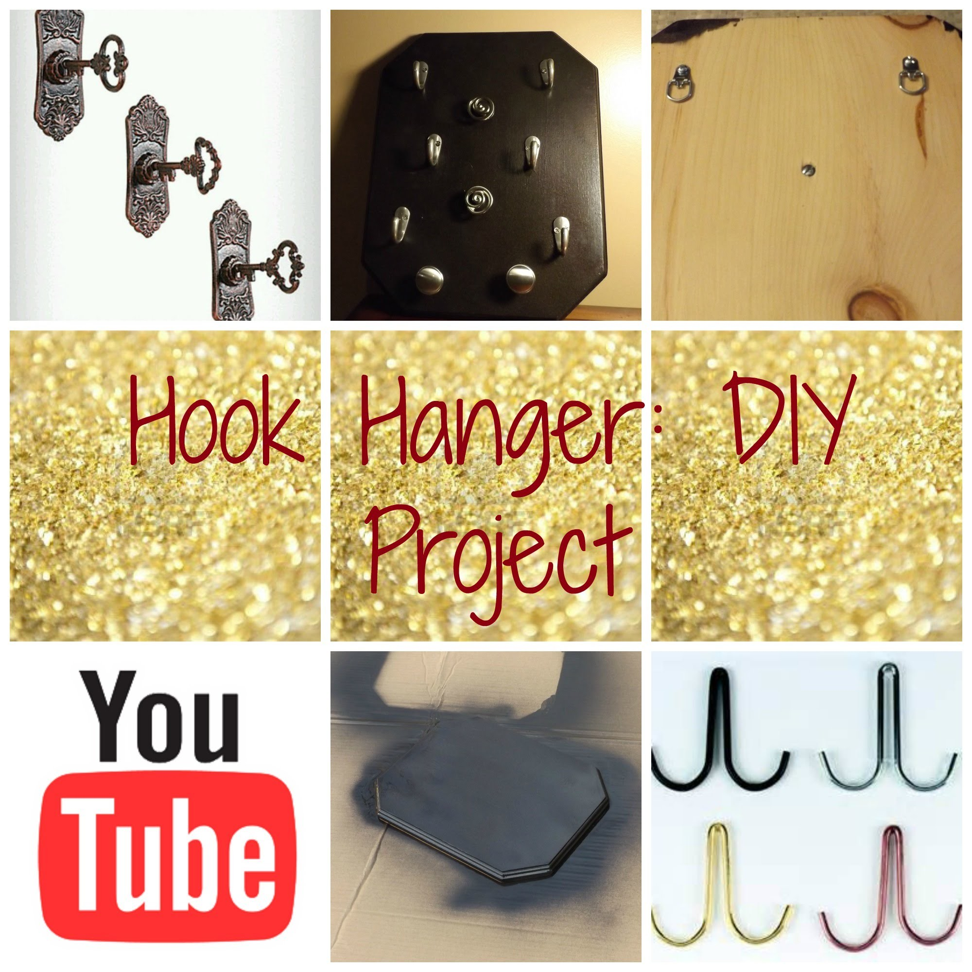 Hook Hanger: DIY Project!