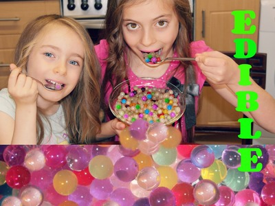 How To Make DIY  Edible ORBEEZ !!!