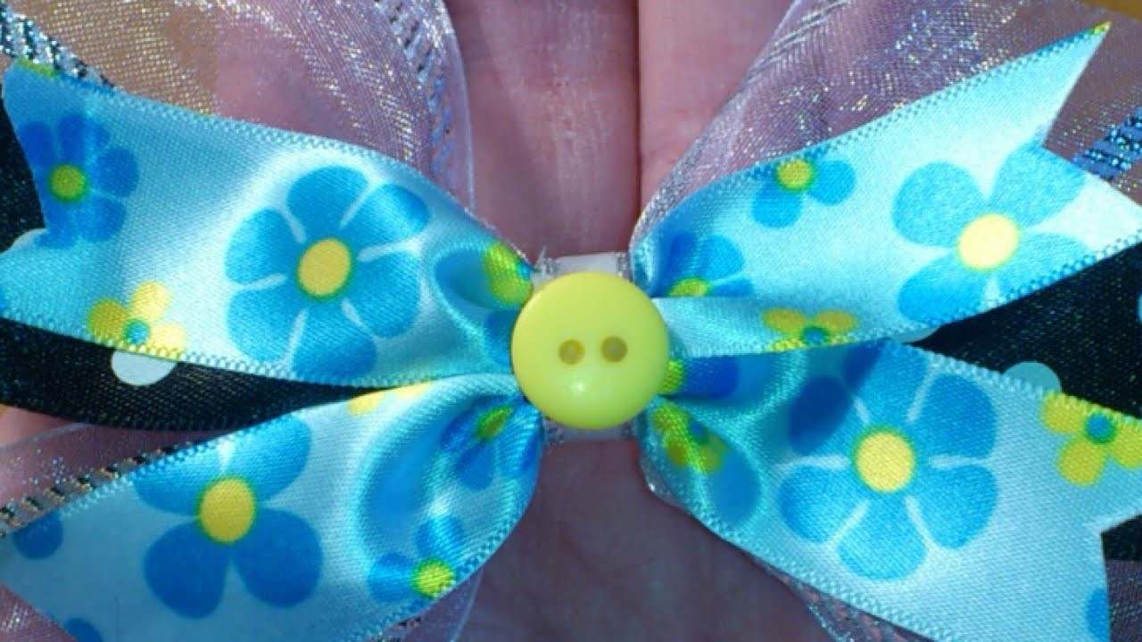 Make Pretty Ribbon Hair Clips - DIY Style - Guidecentral