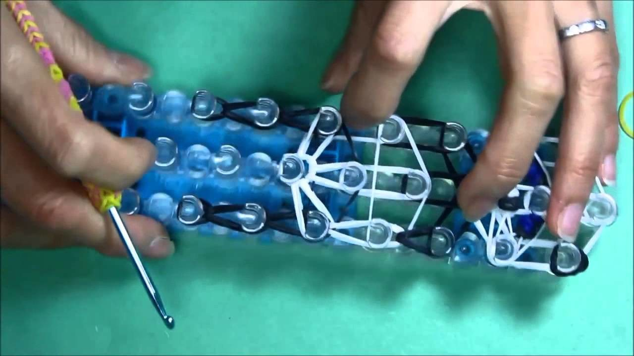 Rainbow Loom Charms  BABY PANDA  How To Tutorial   Design DIY Mommy