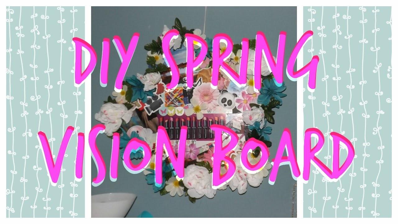 Spring Vision Board! | DIY