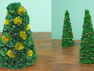 2 Miniature Christmas Tree Caft DIY Projects