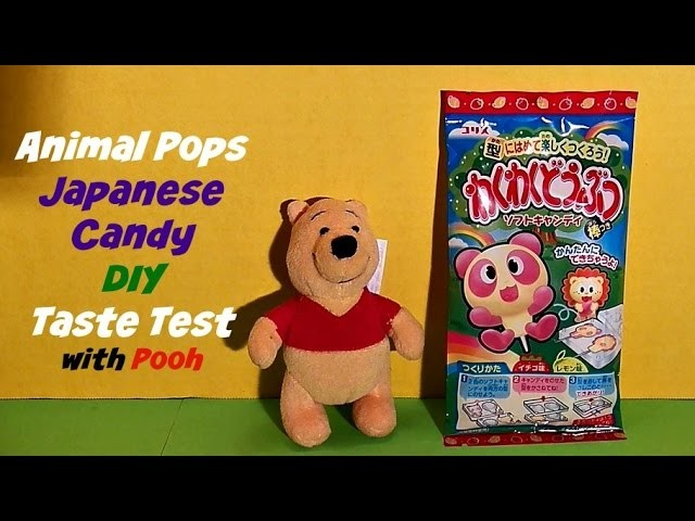 ANIMAL POPS, Japanese Candy, Taste Test DIY, JAPAN CRATE