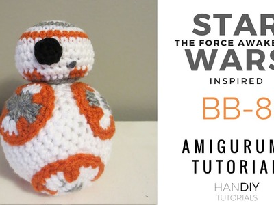 BB-8 Stuffed Toy Amigurumi Crochet Tutorial: Part 1