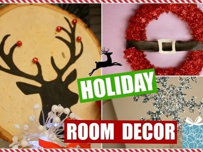 D.I.Y. Holiday Room Decor!
