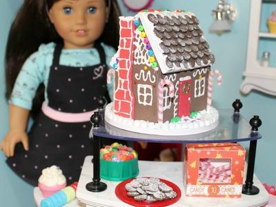 DIY American Girl Gingerbread House