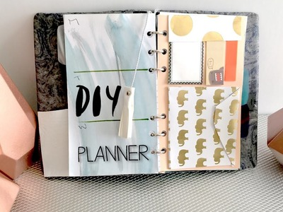 DIY Back to School Planner. DIY Tassel. Mini Envelope