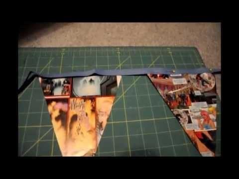 DIY Birthday Banner (Superhero)