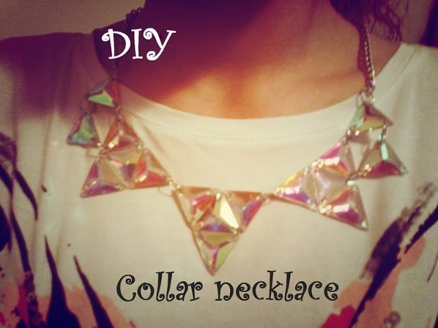 DIY Collar necklace*** Easy,Fashionable & Cheap ;)
