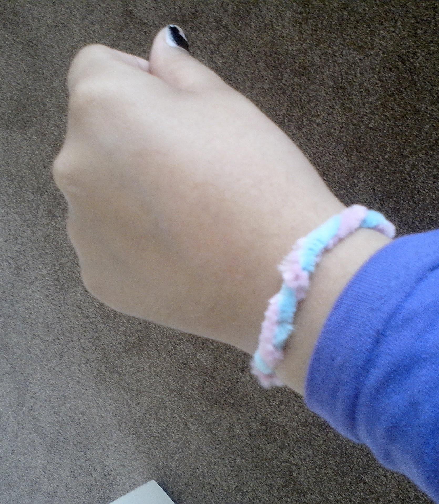 DIY: Cotton Candy Bracelet