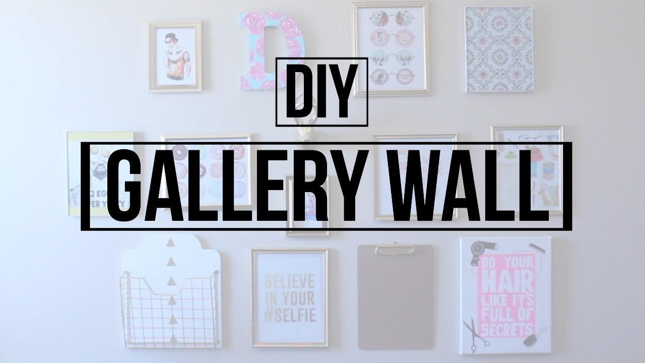 DIY Gallery Wall | DaynnnsDIY