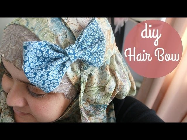 ✂ DIY Hair Bow