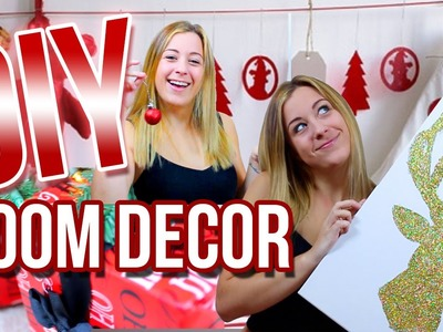 DIY Holiday Room Decor! Cheap & Easy Ways To Decorate Your Room!