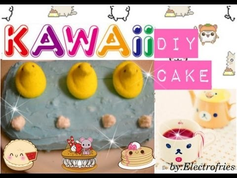 DIY Kawaii Cake
